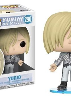 Yurio Funko Pop 10 cm Nº 290 Yuri!!! On Ice
