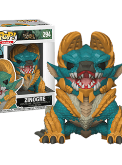 Zinogre Funko Pop 10 cm Monster Hunter Nº294