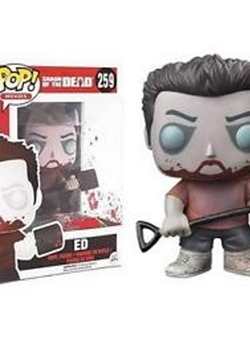 Zombie Ed Funko Pop 10 cm Zombies Party Shaun of the Dead Nº259